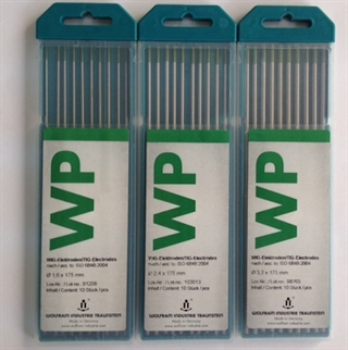 Picture of Tungsten Electrode WP ø 3,2 x 175