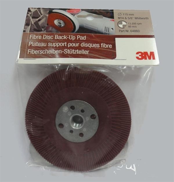 """Fibre Disc Bach-Up Pad 3M 115mm - 4""""1/2"""