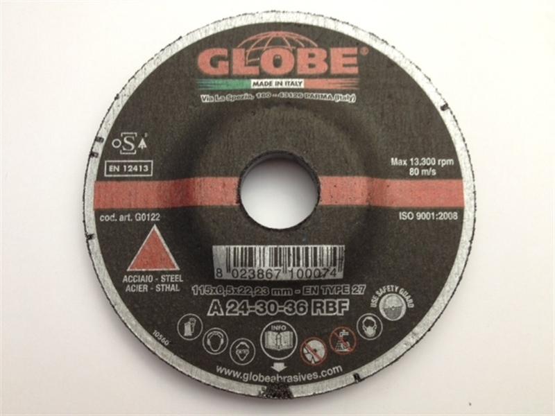 Grinding Disc Globe 115 x 6,5 R