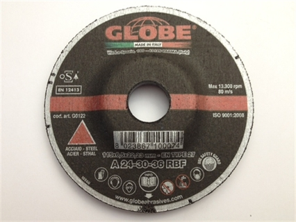 Picture of Grinding Disc Globe 125 x 6,5 R