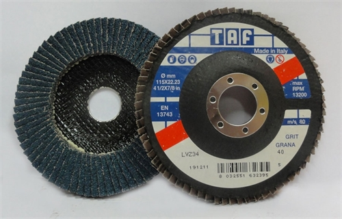 Picture of Flap Disc TAF LVZ 34 Z40
