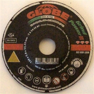 Picture of Grinding Disc Globe 125 x 7,0 GrindPower II
