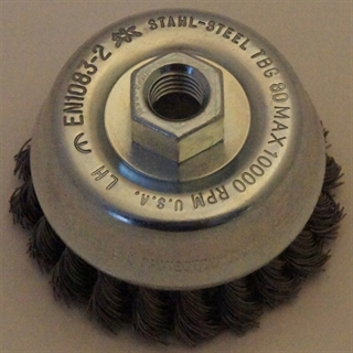 Picture of Pferd Threaded cup brushes TBG 80/M14 ST 050