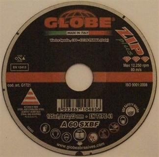 Picture of Globe Cut Disc 125 x 1,0 Inox