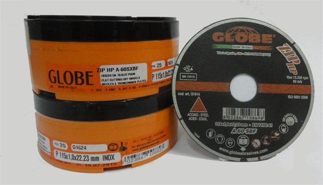 Globe Cut Disc 115 x 1,6 Inox