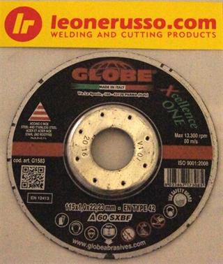 Picture of Globe Xellence One Inox 115 x 1,0