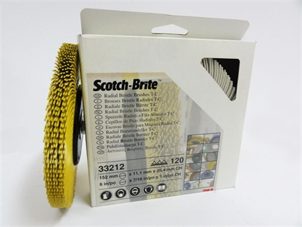 Picture of 3M Radial Bristle Brushes 80 Grit size