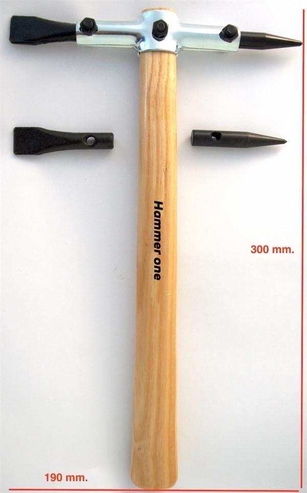 Hammer welding Beat-slag
