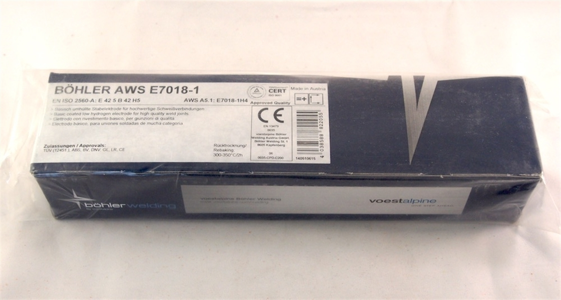 Bohler AWS E 7018-1 ø 3,2x450