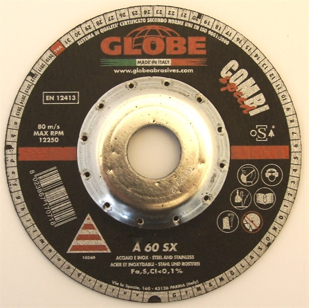 Cutting and Grinding Disc Globe 115 x 4,0