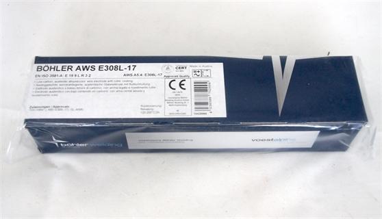 Picture of Bohler AWS E 308L-17 ø 2,5x300