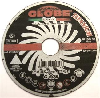 Picture of Globe 125 x 1,3 cut disc for Titanium