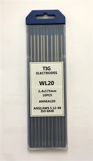 Picture of Electrodes Tungsten Blue ø2,4
