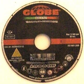 Picture of Globe 115 x 3,2 Inox