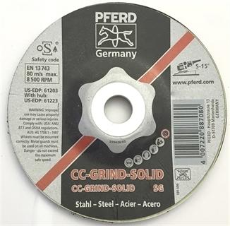 Picture of Pferd Disco Solid 125 Inox
