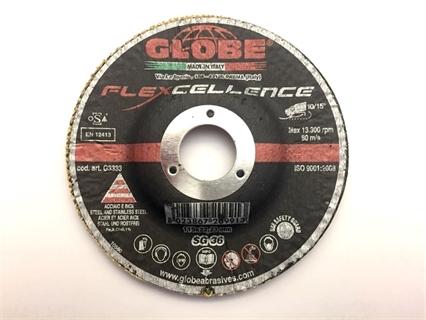 Picture of Globe disco fibrato con supporto fisso 115 gr 36