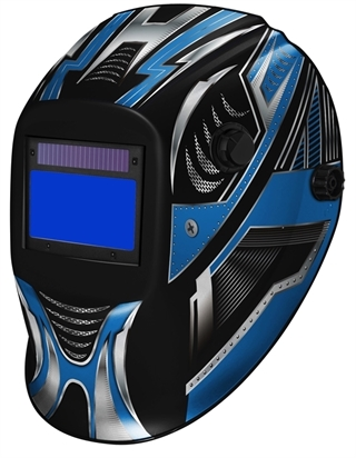 Picture of Welding Helmet ClearWelding TM17 Blue Shark 715