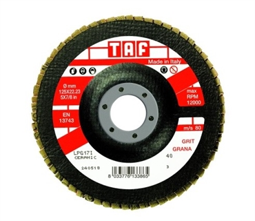 Picture of Flap Disc TAF LPG 13 Z40
