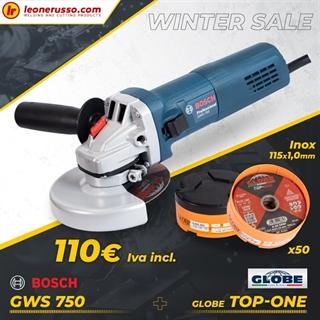 Picture of Winter Promo Smerigliatrice Bosch + 50 Dischi globe